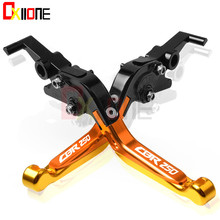 Motorcycle Accessories CNC Adjustable Folding Extendable Brake Clutch Levers For Honda CBR250