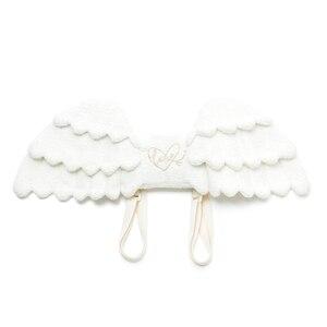 Милый плюшевый рюкзак с крыльями ангела, каваи, рюкзак с набивкой в виде кукол ангела, сумка-мессенджер для девочек
