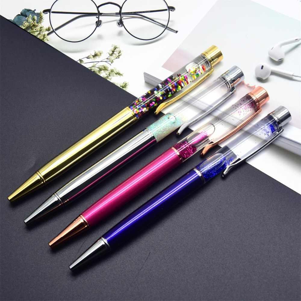 Guoyi D071 bakır kristal Quicksand kalem Metal high-end iş ofis hediyeleri ve kurumsal logo özelleştirme imza kalem