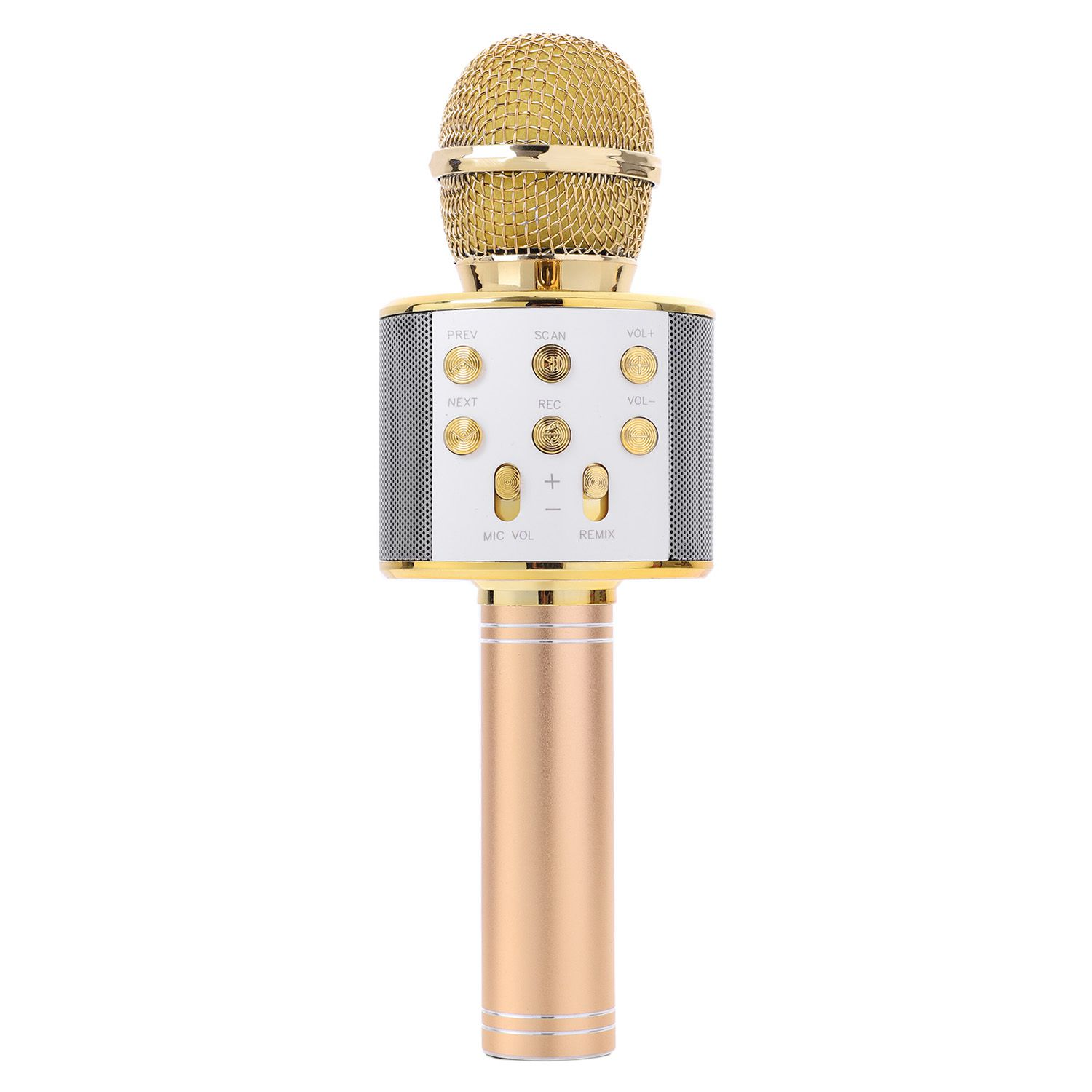 Handheld Bluetooth Wireless Karaoke Microphone Phone Player MIC Speaker Record Music KTV Microphone цена