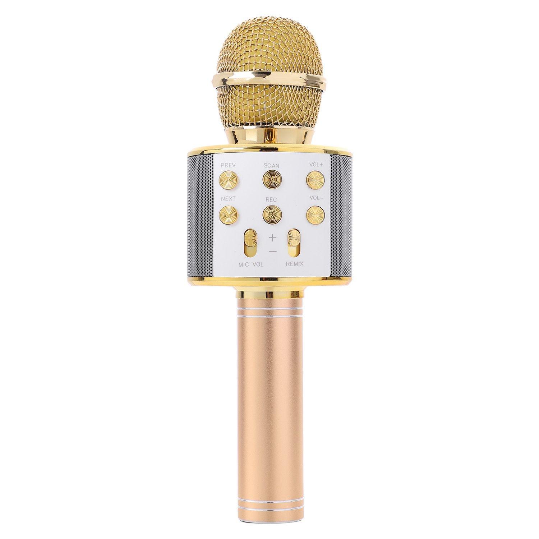 Handheld Bluetooth Wireless Karaoke Mikrofon Telefon Player MIC Lautsprecher Rekord Musik KTV Mikrofon