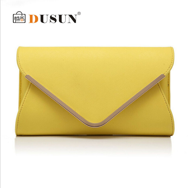Women Genuine leather Clutch bag 2016 Famous brand Crossbody bags Ladies Fashion Envelope bag Woman Evening Party bag Small sac