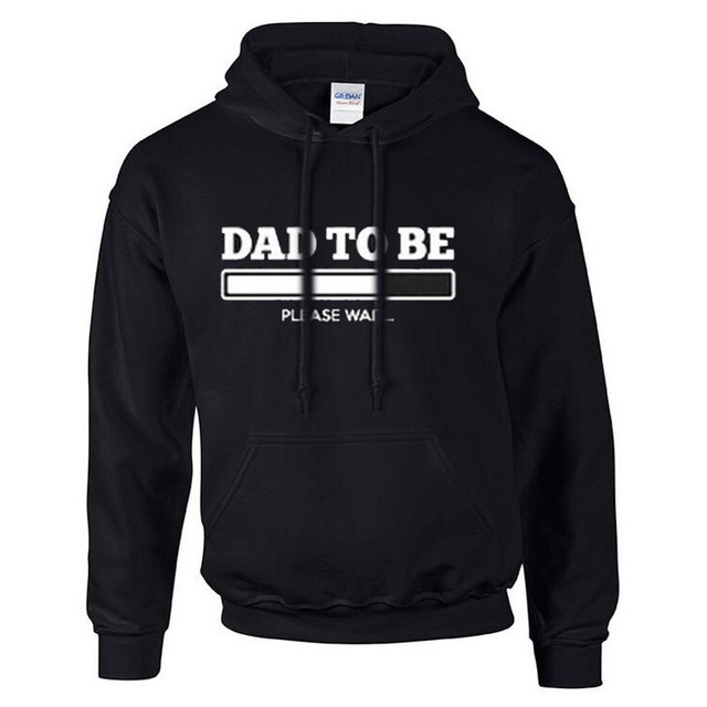 Dad To Be Printed Hoodies Expecting Baby Loading Funny Gift Idea