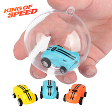 Mini High-Speed Stunt Car Decompression Toy 360 Rotating Laser Chariot Racing Model Boy Toys for Kids USB Charging