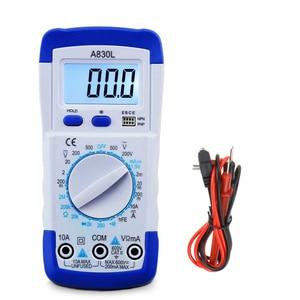 Image 2 - A830L LCD Digital Multimeter DC AC Voltage Diode Freguency Multifunction Volt Tester Test Current Voltmeter Ammeter Meter Gauges