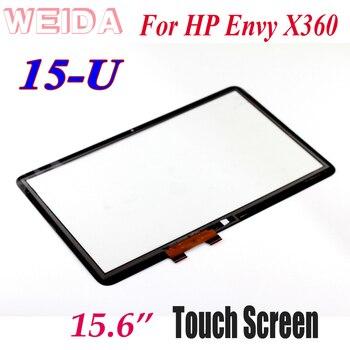 WEIDA Touch Digitizer Replacement 15.6 For HP Envy X360 15-U 15-u011dx 15-U410NR 15U Series Touch Screen Panel new 15 6 touch screen glass lens digitizer for hp envy touchsmart 15 j series 15 j053cl 15 j080ez 15 j063cl 15 j067cl 15 j173cl