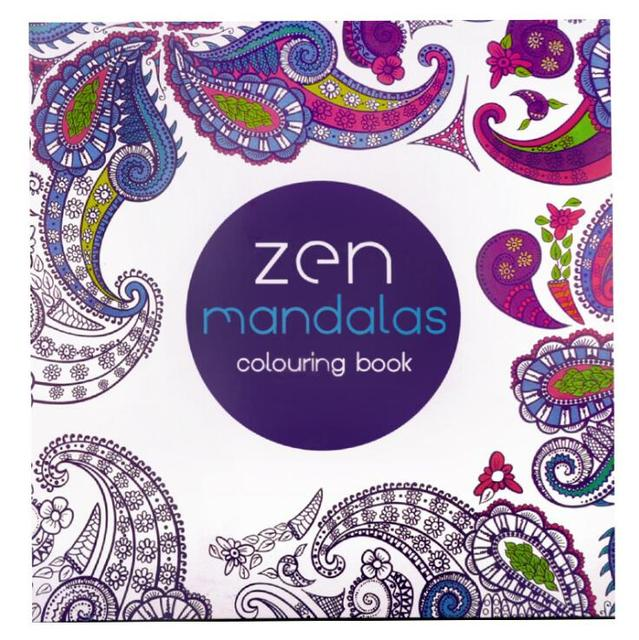 1 PC Zen Mandalas Coloring Books 128 Pages 21cm21cm Relieve Stress Graffiti Painting Drawing