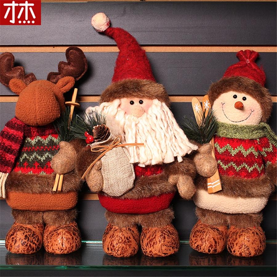 New arrival snowman santa claus toys very good quality