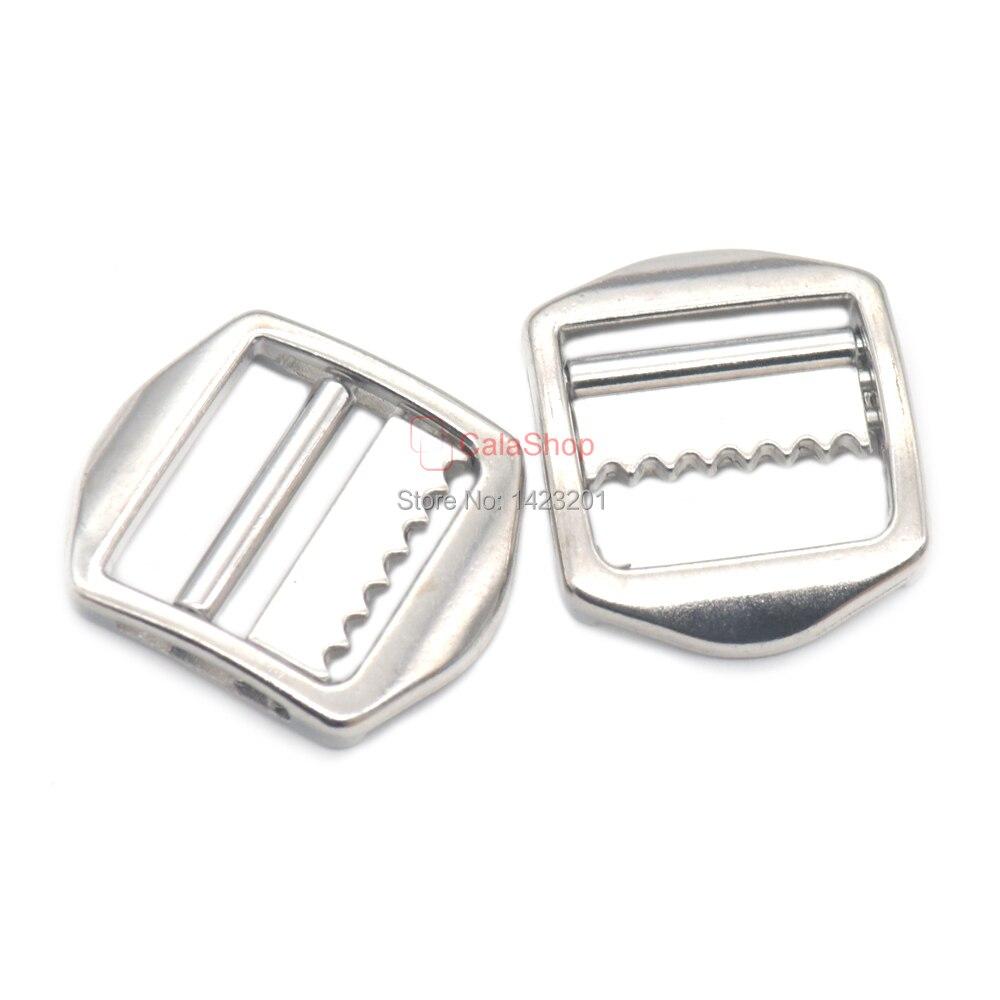 Lot 20mm Zinc Alloy Double Bar Roller Sliding Triglides Adjustor Buckle Collars Backpack Strap Jacket Apparel Sewing & Fabric Obedient 5/12/25/60 Pcs