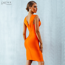 Tank Sexy Deep V-Neck Sleeveless Bodycon Women Dress
