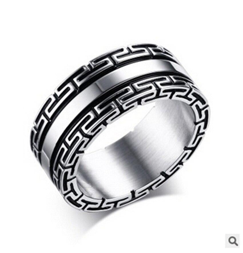 Топ моды групп Мода Кольца anillos ювелирные изделия Новая мода покрытие кольцо Нержавеющаясталь Jewelry Для мужчин полированный