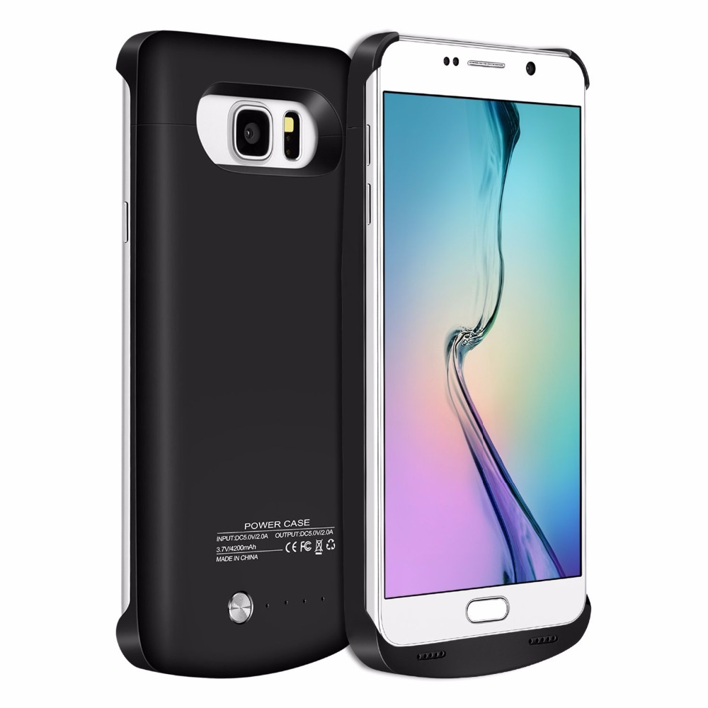 2018New For Samsung Note 5 4200mAh External power bank pack Charger Backup cover fOR Galaxy Note5 Battery case 2A Fast Charge