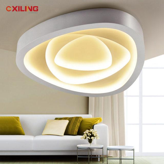 led deckenleuchte innenbeleuchtung runden schlafzimmer wohnzimmer ... - Schlafzimmer Lampe Weis