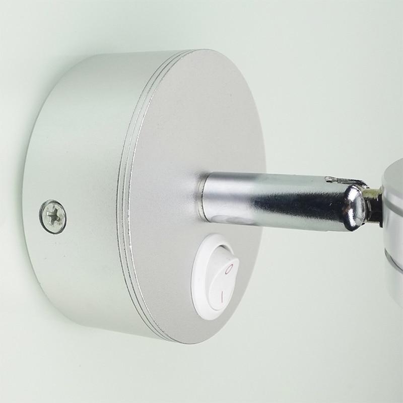 Simplicidad moderna Lámparas de pared LED Dormitorio de plata - Iluminación interior - foto 5
