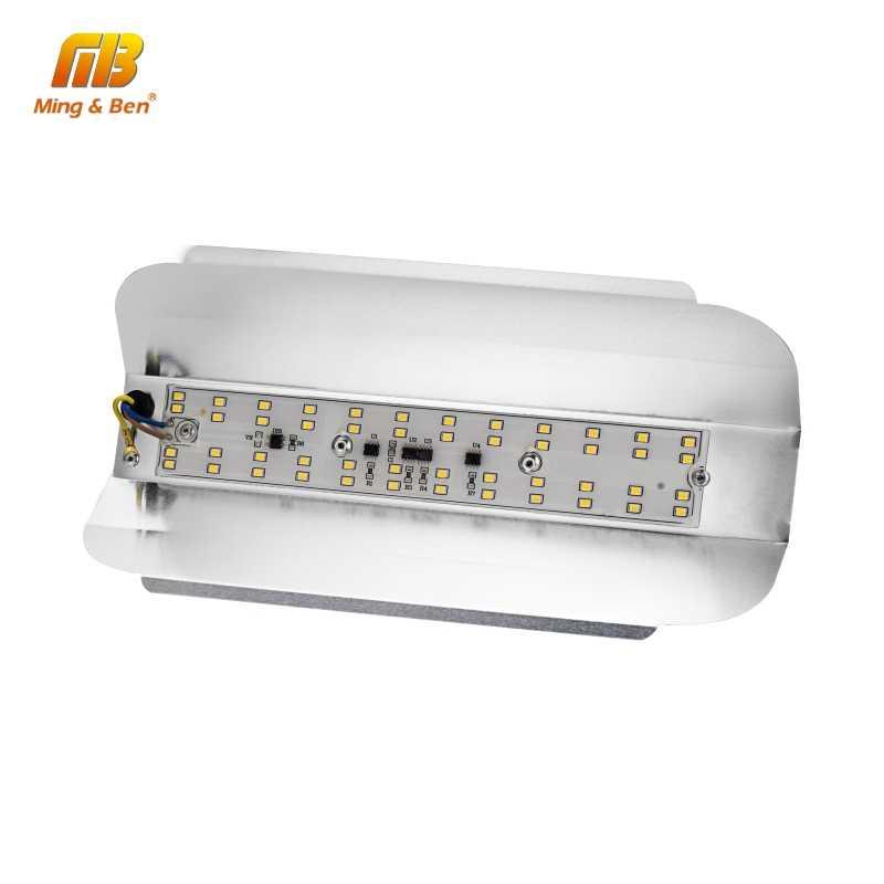 Светодиодный прожектор 50 W 100 W SMD2835 светодиодный Spotlight IP65 Водонепроницаемый светодиодный наружного освещения AC 220 V 230 V Ультра тонкий дизайн настенный светильник