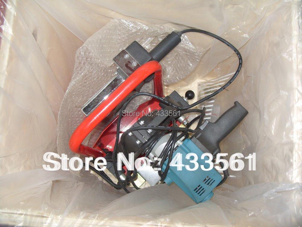 Butthegesztőgép PVC és PE csövek - Hegesztő felszerelések - Fénykép 3