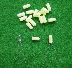 Image 5 - XPT01M 100 ชิ้นหมวกยาง/สำหรับ 3 มิลลิเมตรเม็ดข้าวสาลีหลอดไฟ LEDs ใหม่ 4 สี