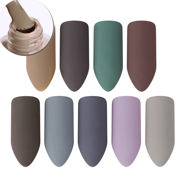 BORN PRETTY Matte Dull Nail Polish Varnish 9ml Nail
