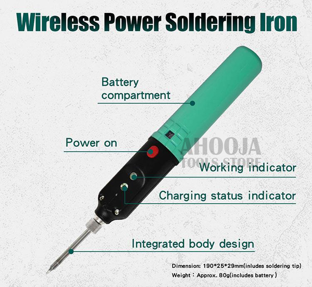 Proskskit SI-B166 sem fio usb eletricidade ferro