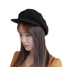 Caliente super alta calidad moda artista lana mujeres sombrero de la boina  para las mujeres casquillo d4aca10c43d