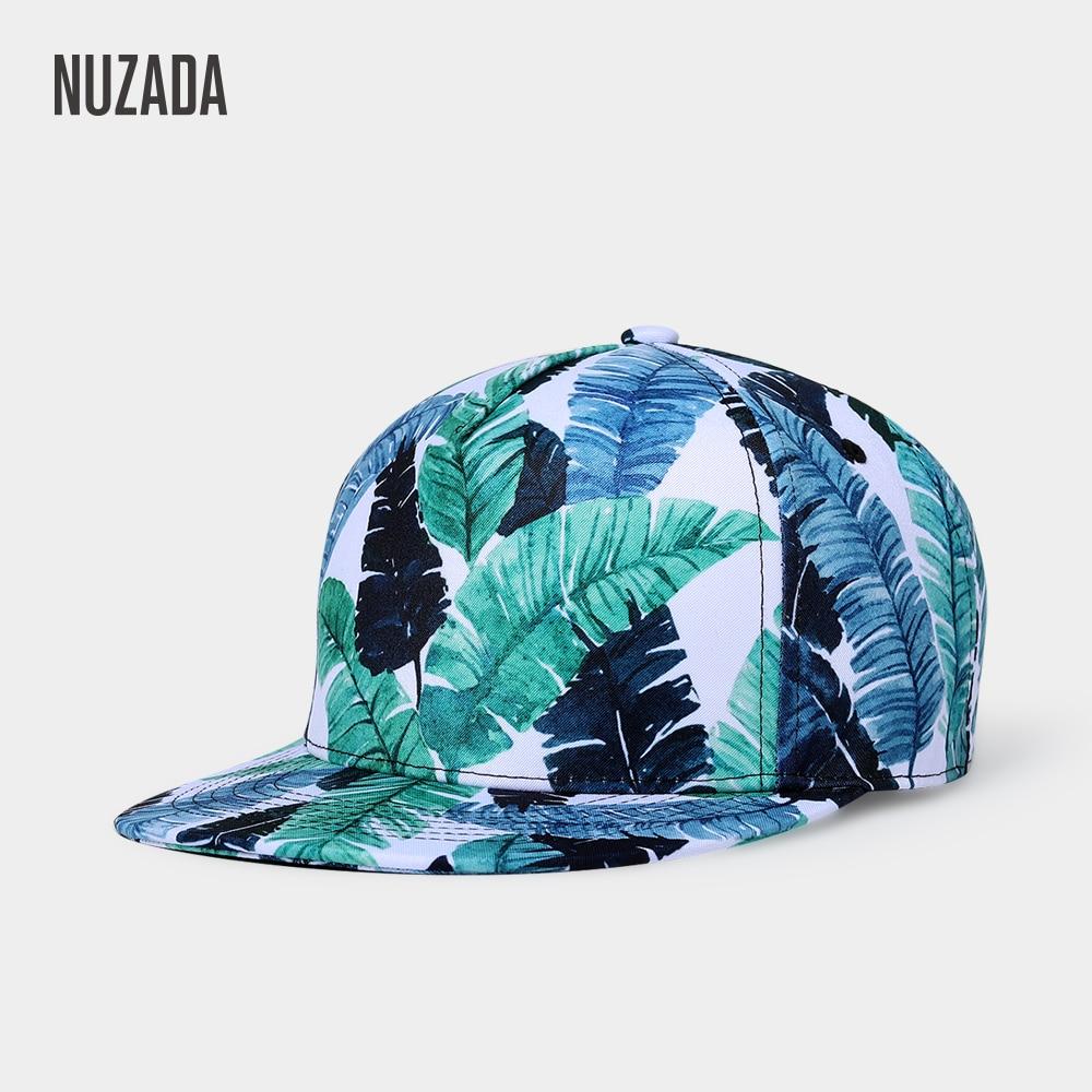 NUZADA Women Men Neutral Couple   Baseball     Cap   Brand Exclusive Original Design 3D Printing Bone   Caps   Spring Summer Autumn Hats
