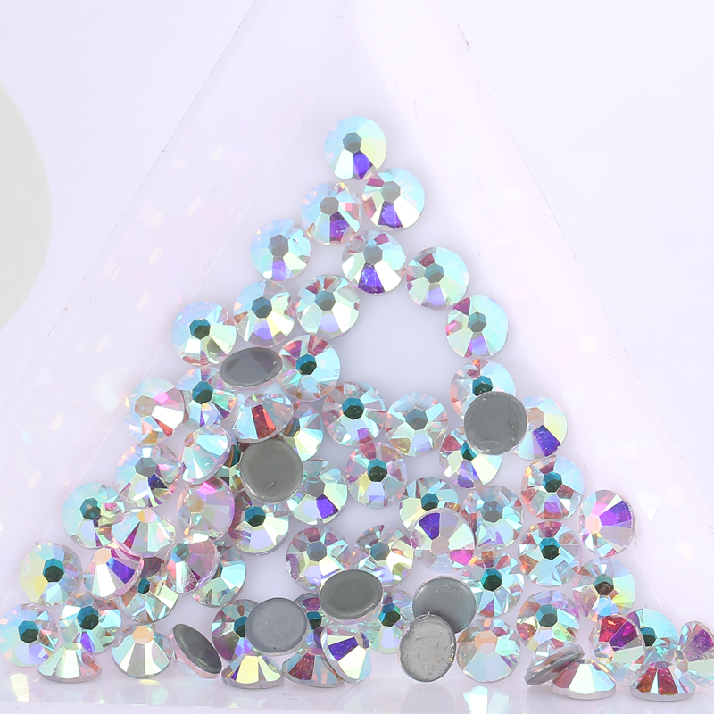 Top Quality Stones Similar Swa Crystals AB Hotfix Rhinestones For Garment  Transfer Design Wedding Dress Rhinestone Iron-in Rhinestones from Home    Garden on ... 5f32f51597ea