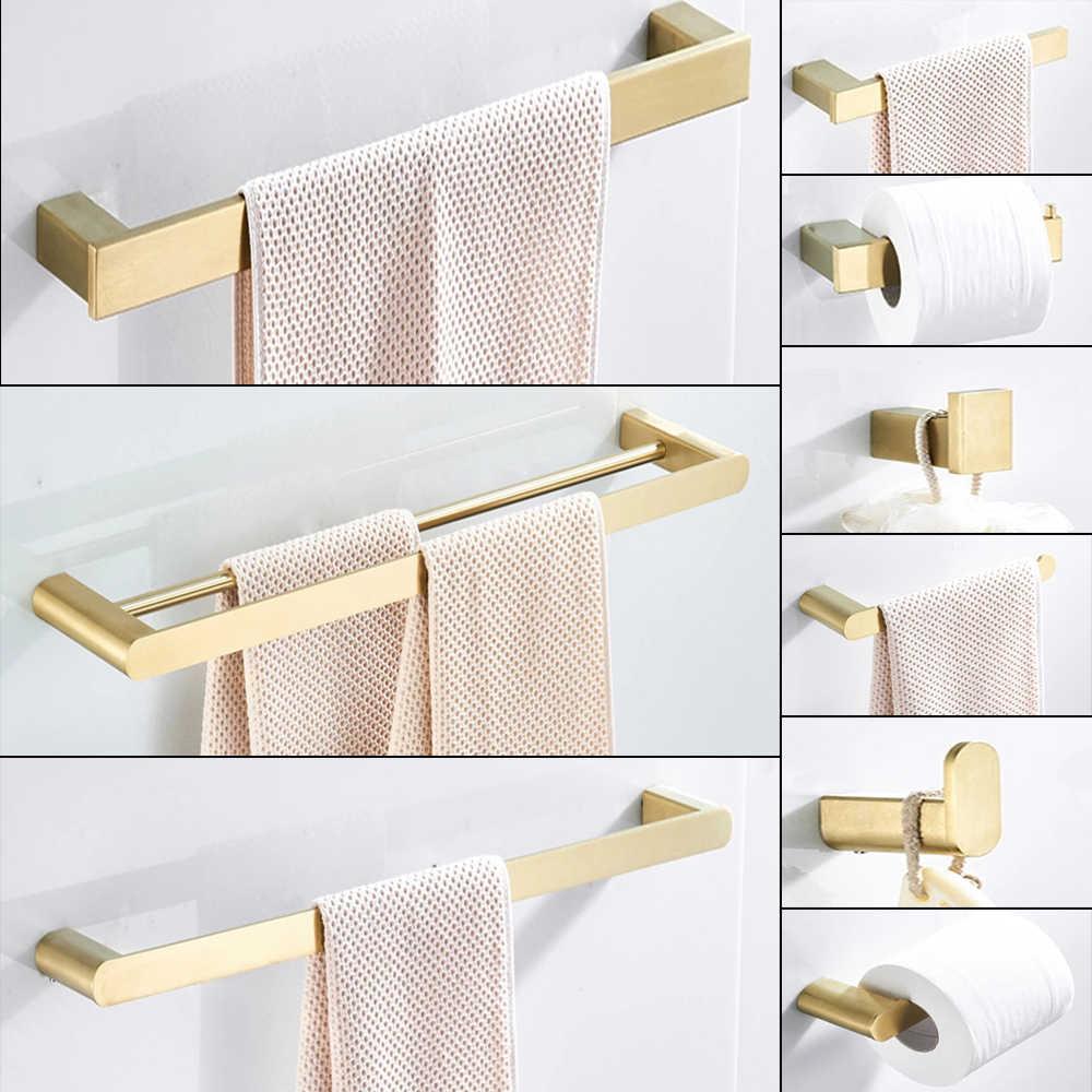 Robe Hook Towel Rail Bar Rack Shelf