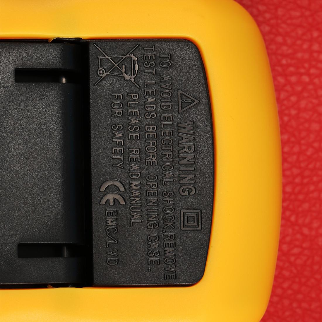 1pcs Handheld Counts Digital Lcd Multimeter Voltmeter Ammeter A830l Ohm Ac Dc Circuit Volt Tester Test Current High Quality Gallery Image