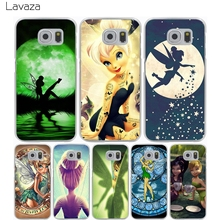 Lavaza Tinkerbell Hard Transparent Cover Case for Samsung Galaxy S7 Edge S6 S8 Edge Plus S5 S4 S3 & Mini S2