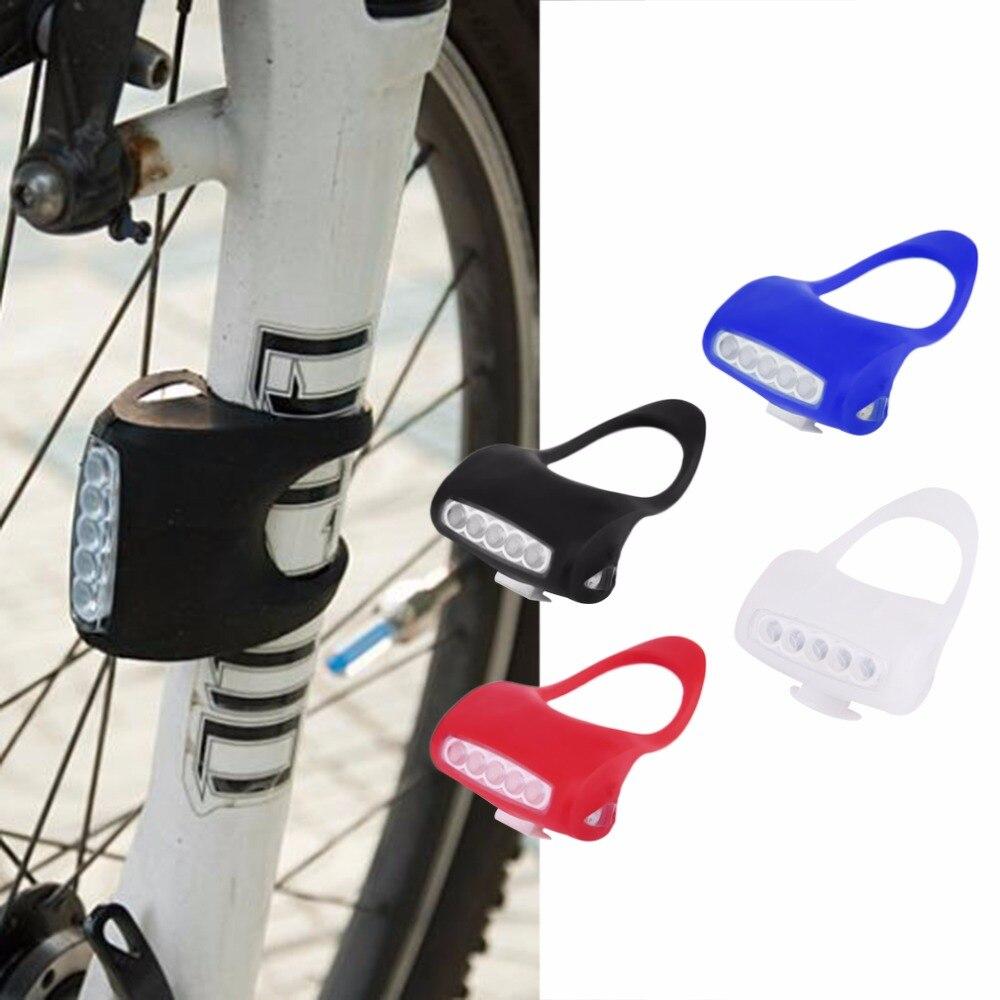 1 шт. 6.5*5.5*4 см 7 LED велосипед Буллфрог лампы Фары для автомобиля задние фонари велосипедные фонари внимание свет горячий поиск
