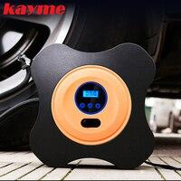 Kayme 12 V 40psi pompe de voiture compresseur d'air auto métal mini pneu compresseur électrique portable pneu gonflable pompe pour Moto vélo