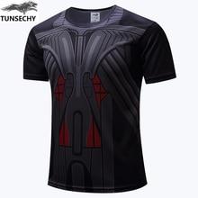 The new avengers spiderman batman superman iron man the man short sleeve T shirt avengers alliance
