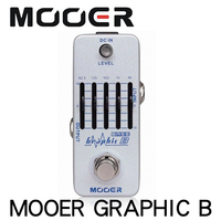 Mooer Graphic B Band Bass Equalizer Guitar Effect Delay Pedal Graphic EQ with Master Level Control Guitar Accessories Parts