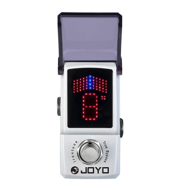 JOYO JF-326 Irontune chromatique guitare électrique basse effets pédale accordeur haute précision LED affichage Mini pédale guitare accessoires