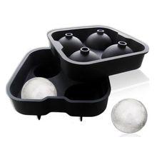 Силиконовые виски льда Куб 3D мяч производитель плесень Сфера плесень вечерние бар лоток AU