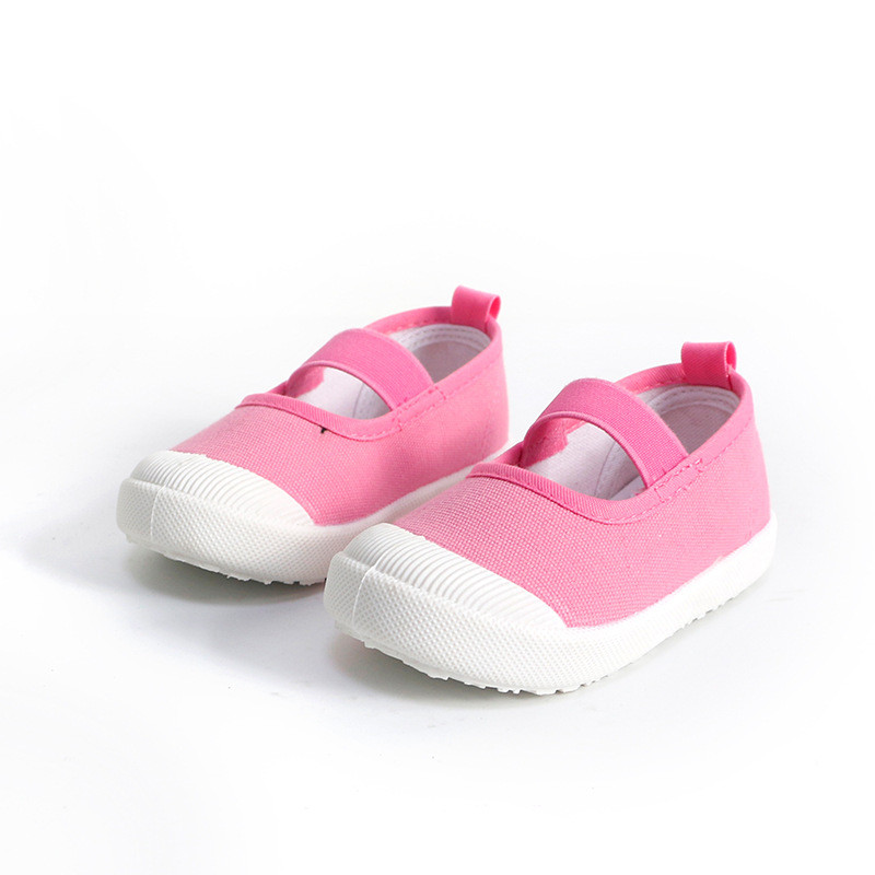 17 children's spring kids baby girls Candy colors floral princess shoes canvas sneakers Toddler infantil shoes for girls 5