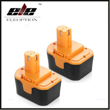 2 PCS 14.4V 2000mAh Ni-CD Power Tool Battery For RYOBI 130281002 RY62 RY6200 RY6201 RY6202 STPP-1441 14.4 Volt