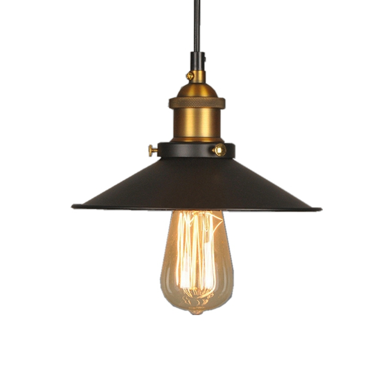 Holigoo Vintage Industrial Lighting Copper Lamp Holder Pendant Light American Lampshape Aisle Lights Lamp Edison Bulb 110V-220V hot sale edison bulb vintage industrial lighting copper lamp holder pendant light american aisle lights lamp 220v light fixtures
