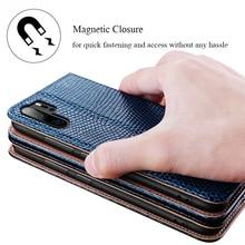 Luxus Echtes Leder Fall für Huawei P30 Pro Mate 20 Pro RS Flip Fall w/Stand Karte Halter Weichen innere Fall Voll Schutz