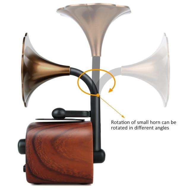 Trumpet Style Bluetooth Speaker 3