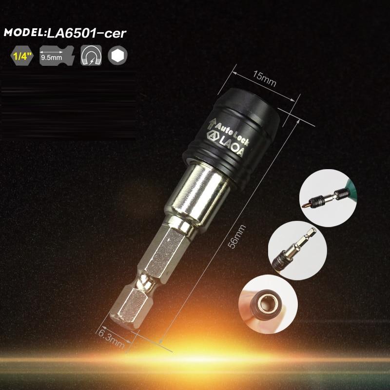LAOA kõrgekvaliteediline 5 suurusega magnetiline 1/4 pistikupesaga - Käsitööriistad - Foto 5