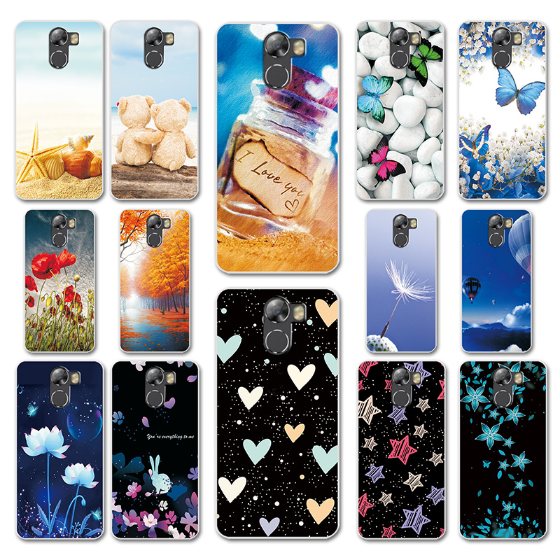 For Wileyfox Swift 2 Swift 2X Case Mobile Phone Back Cover Heart Pattern Case For Fundas Wileyfox Swift 2X 2 X Cover Case Shells