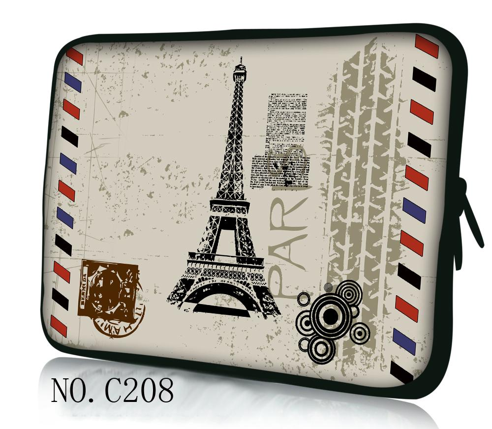 Hot Paris Eiffel Tower laptop Notebook Sleeve Bag For 10.1 11.6 12 13.3 14 15 15.6 HP Pavilion ASUS ThinkPad DELL SONY