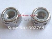 M5 1000PCS SS304 DIN985 NYLON NUT STAINLESS STEEL