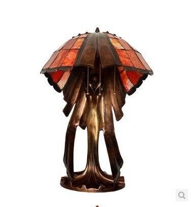 Welp Tiffany lampen vliegende vrouwelijke woonkamer vol hoogwaardige MC-03