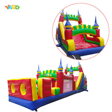 Unique Inflatable Bouncer Obstacle Course with Slide from China