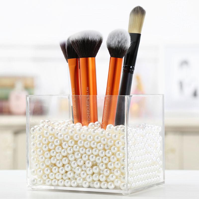 M Cosmétique Organisateur Boîte De Rangement Maquillage Organisateur Acrylique Maquillage Organisateur Maquillage De Stockage Sûr Matériel Boîte Panier C138 8 dans Boîtes De Rangement de Maison & Jardin
