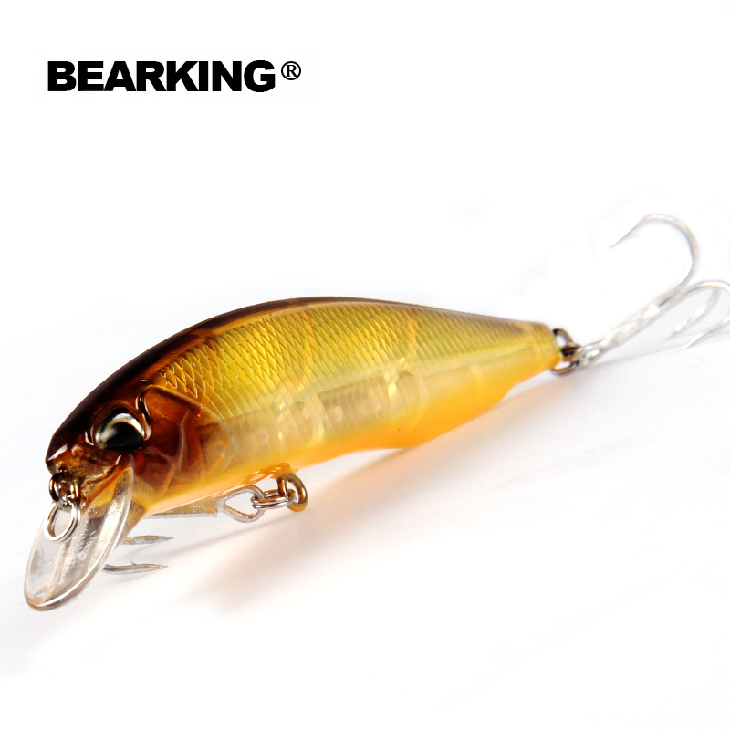 Retail 2016 good fishing lures minnow, quality professional baits 10cm/14.5g, bearking crankbait popper swimbait hard baits