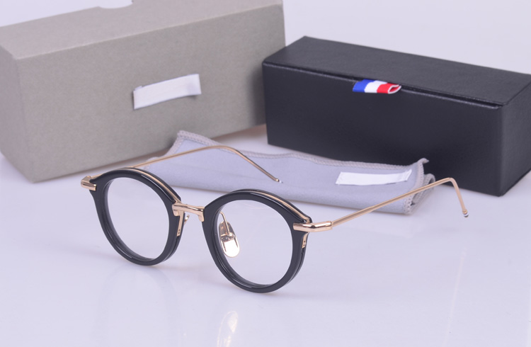 Vintage TB011 round  frames unisex eyeglasses frames prescription eyewear for women men with logo and original box