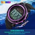 Mulheres De Energia Solar Relógio Militar Relogio masculino Dos Homens Do Esporte Relógios Digitais À Prova D' Água LED Eletrônico Relógio de Pulso Relojes Homme